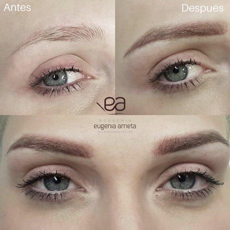 Micropigmentación de cejas Eugenia Arrieta Micropigmentación