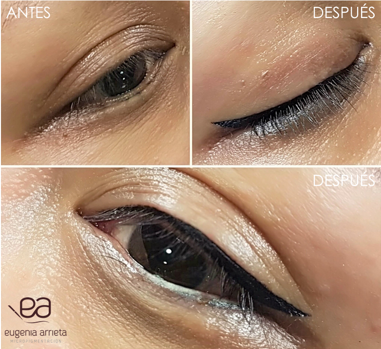 Micropigmentación de ojos Eugenia Arrieta Micropigmentación