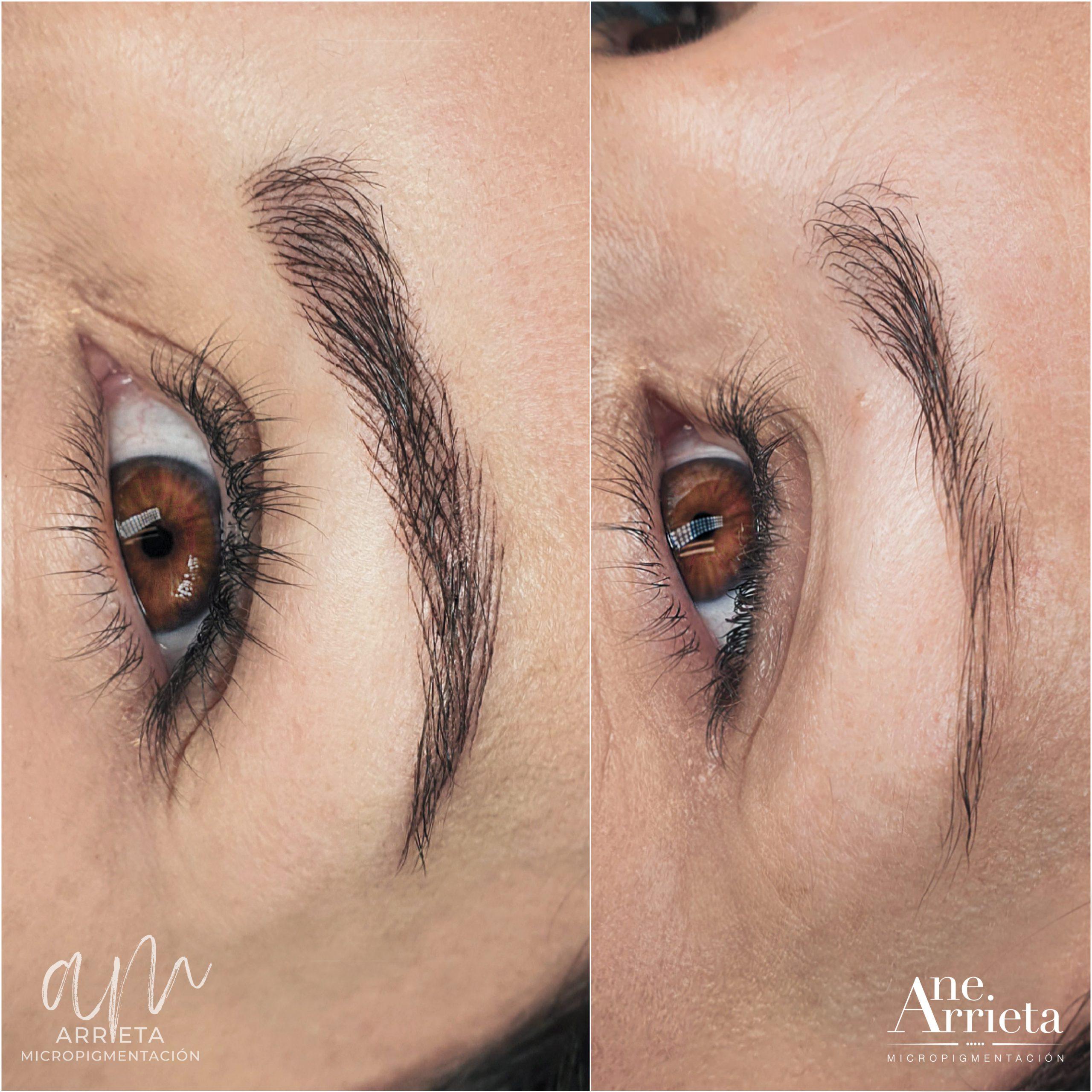 micropigmentación cejas Arrieta Micropigmentación