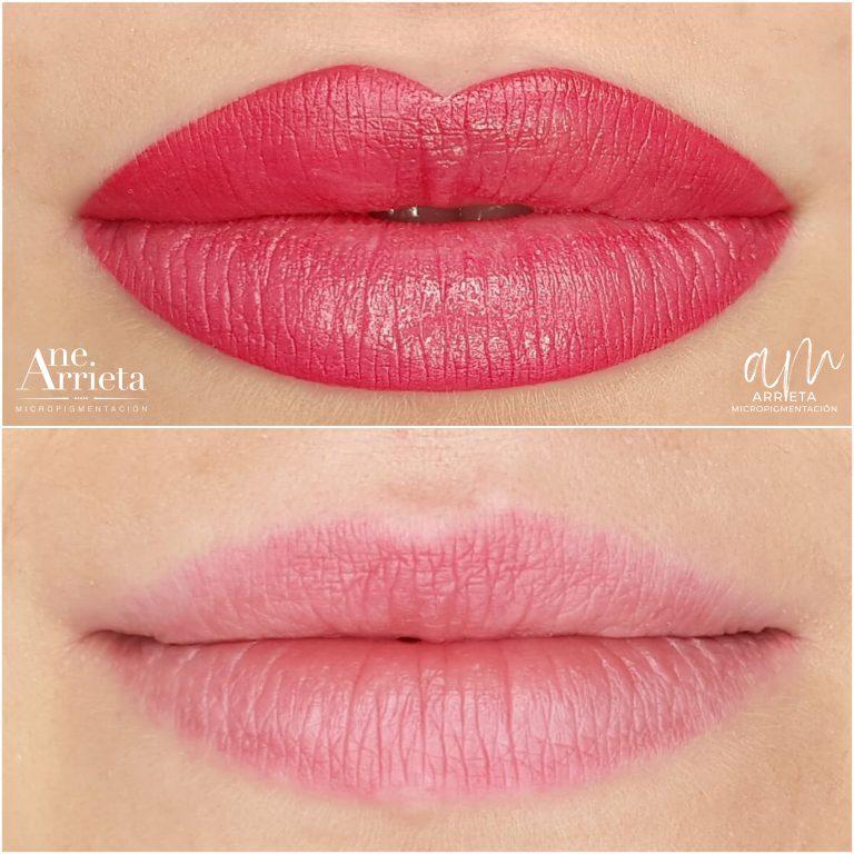 Micropigmentación de labios
