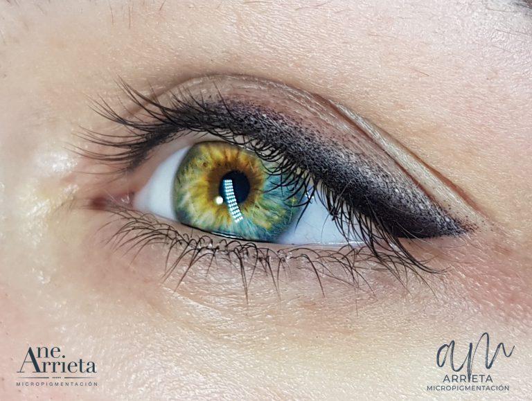 Micropigmentación de ojos fuzzy